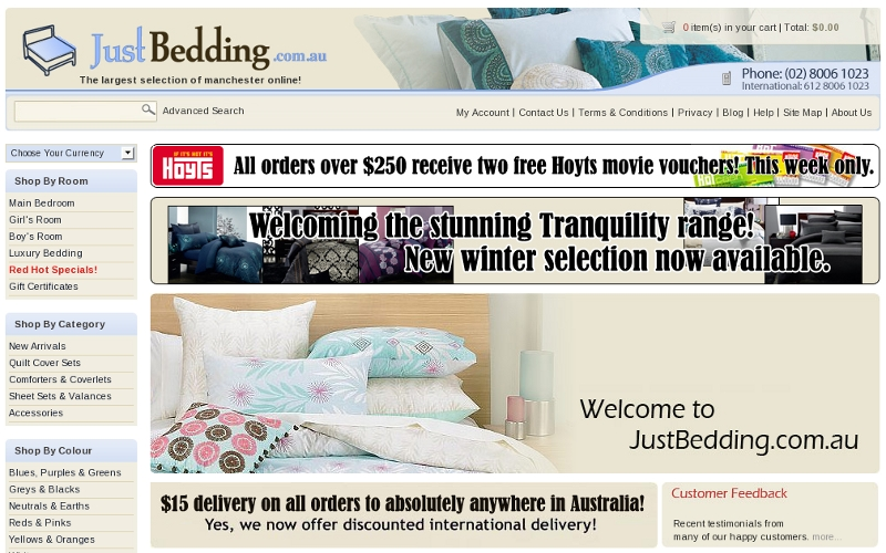 JustBedding.com.au
