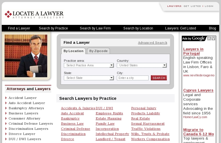 Locate A Lawyer.com