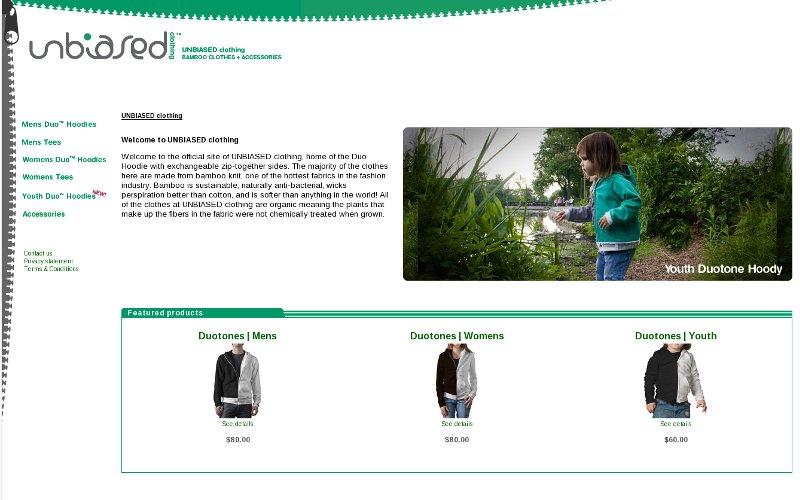 UNBIASED clothing